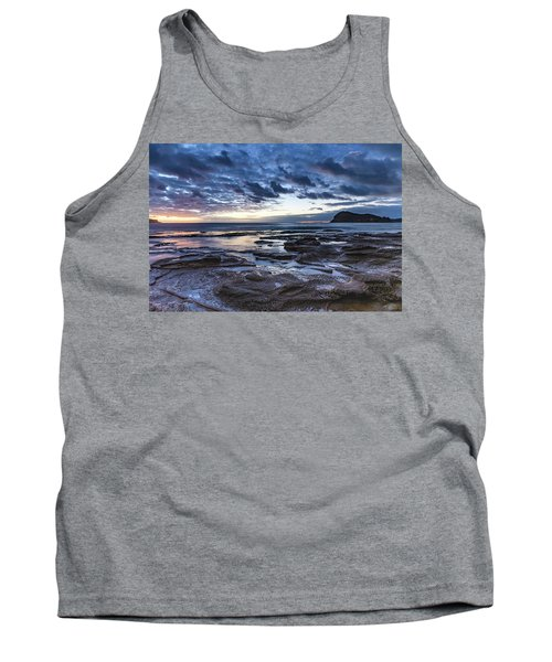 Seascape Cloudy Nightscape Tank Top
