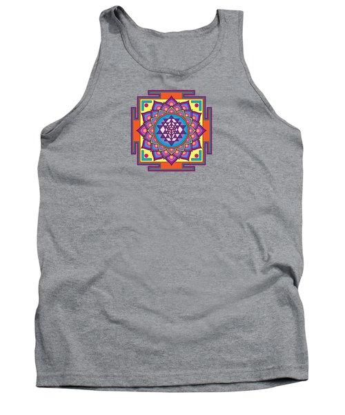 Sri Yantra Mandala Tank Top