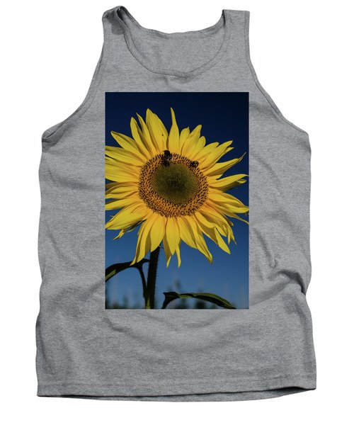 Sunflower Fields Tank Top by Miguel Winterpacht
