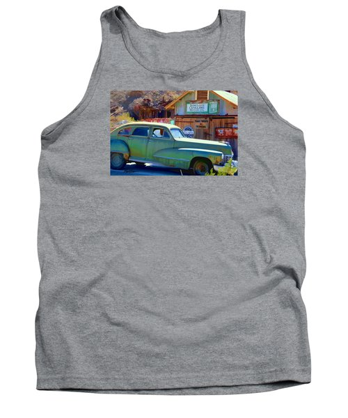 Tank Top featuring the photograph Techatticup Mine Ghost Town Nv by Marti Green