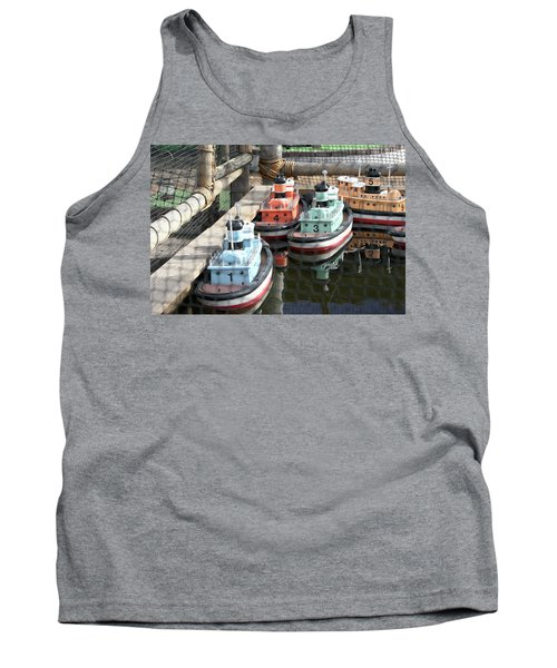 4 Toy Boats Tank Top