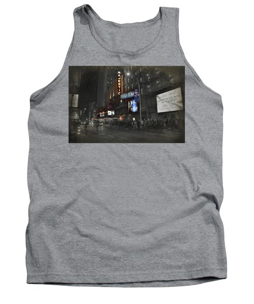 44th Street Nyc Tank Top by Dyle Warren