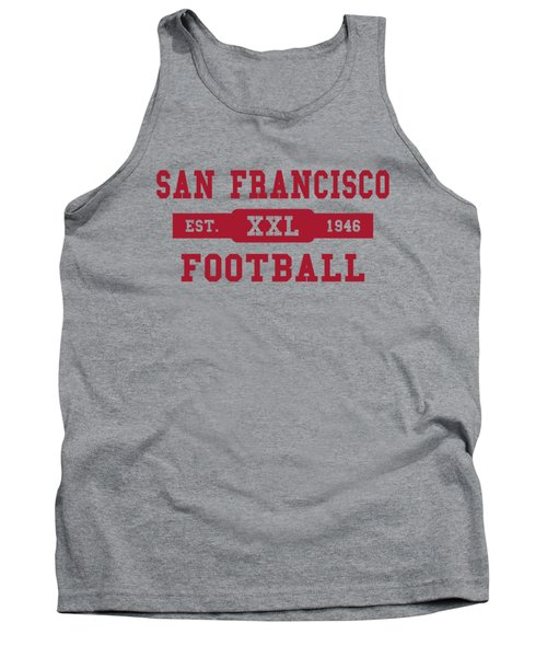 49ers Retro Shirt Tank Top by Joe Hamilton