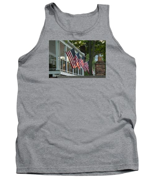 4th Of July Porch Tank Top