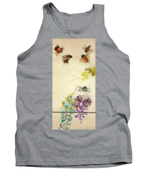 Bugs And Blooms Album Tank Top
