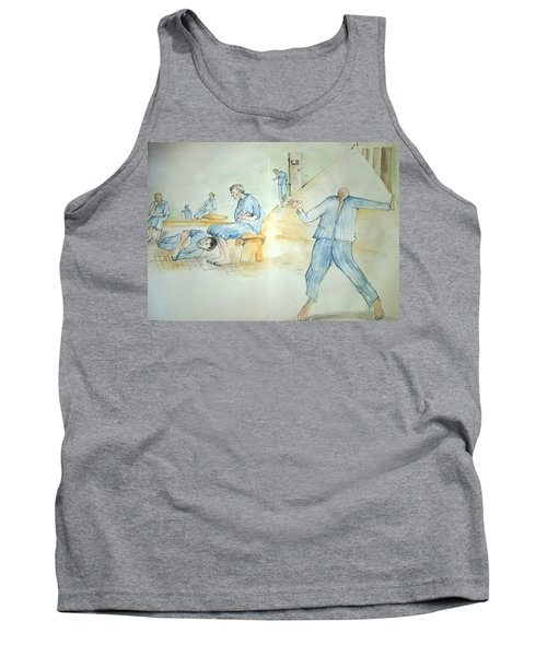 Mental Illness Hurts Album Tank Top