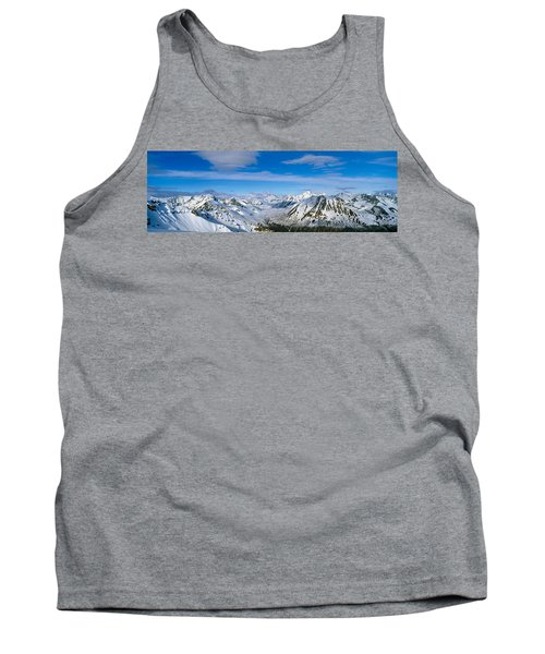 Mountains And Glaciers In Wrangell-st Tank Top