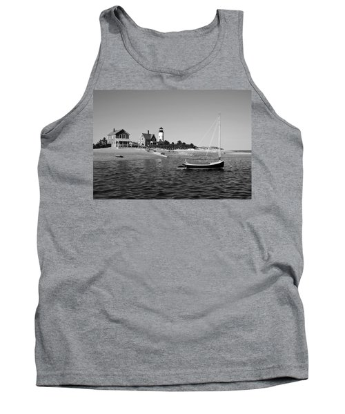 Tank Top featuring the photograph Sandy Neck Lighthouse by Charles Harden