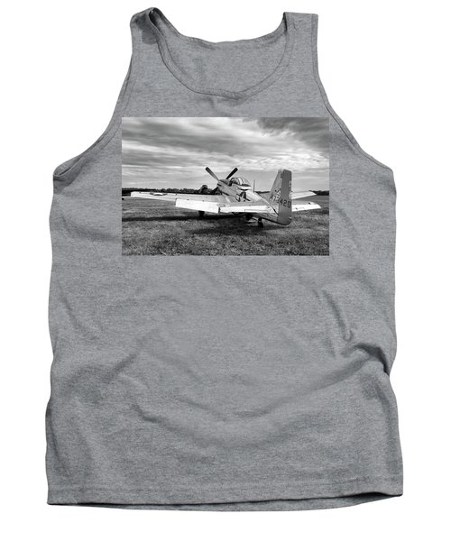 Tank Top featuring the photograph 51 Shades Of Grey by Peter Chilelli