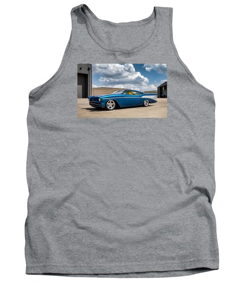 '57 Chevy Custom Tank Top by Douglas Pittman