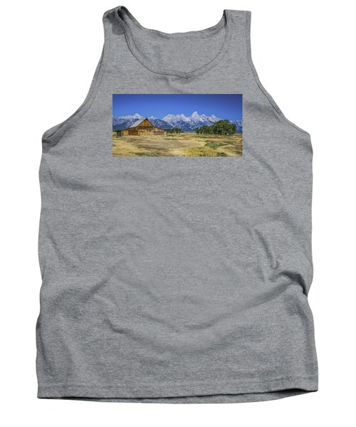 #5730 - Mormon Row, Wyoming Tank Top