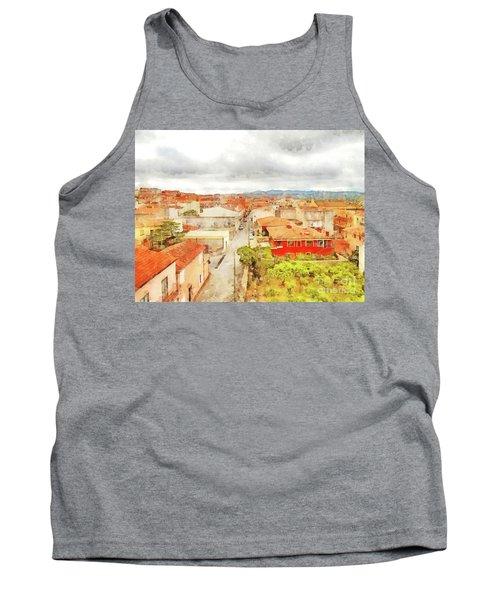 Arzachena Urban Landscape Tank Top