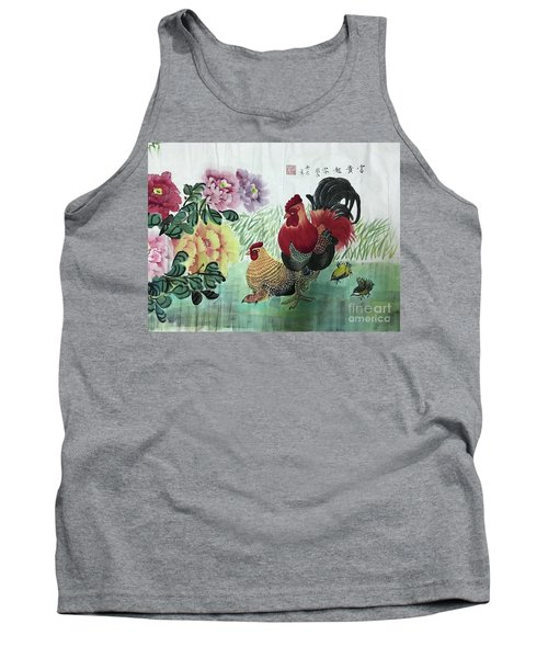 Chinese Painting Tank Top