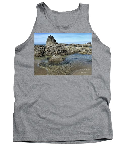 Tank Top featuring the photograph Roads End by Peggy Hughes