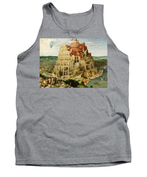 The Tower Of Babel  Tank Top