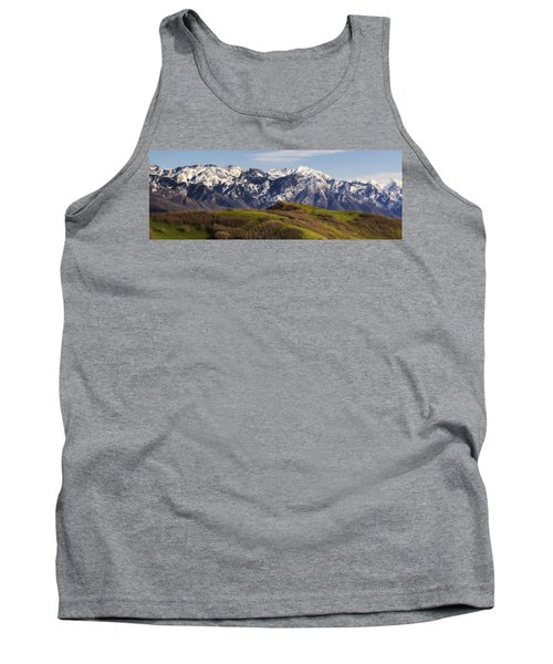 Wasatch Mountains Tank Top by Utah Images