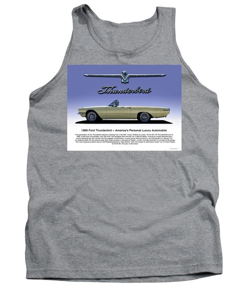 66 T-bird Display Piece Tank Top by Douglas Pittman