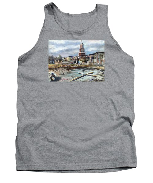 Union University Jackson Tennessee 7 02 P M Tank Top by Randy Burns