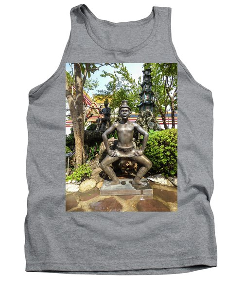 Thai Yoga Statue At Famous Wat Pho Temple Tank Top