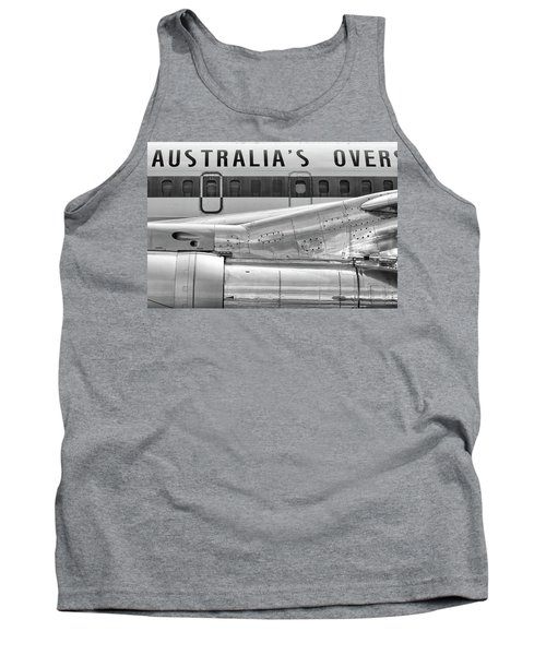 707 Nacelle And Fuselage Tank Top