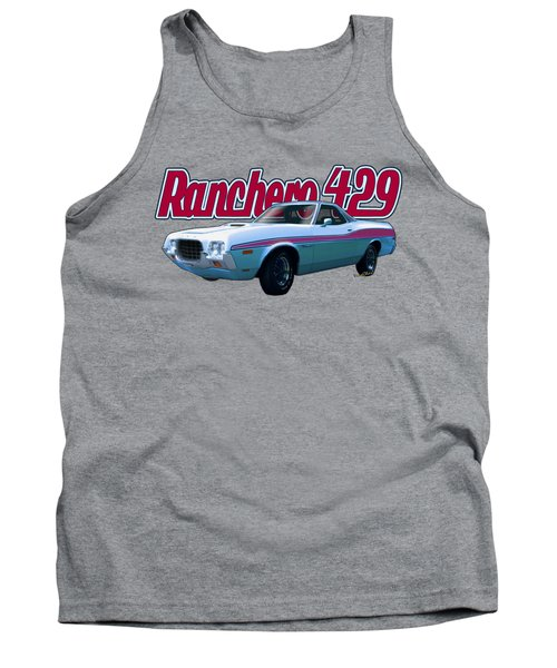 72 Ford Ranchero By The Sea Tank Top