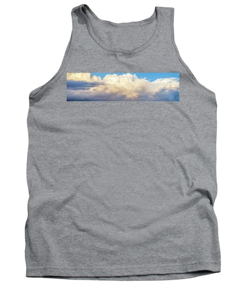 Tank Top featuring the photograph Clouds by Les Cunliffe