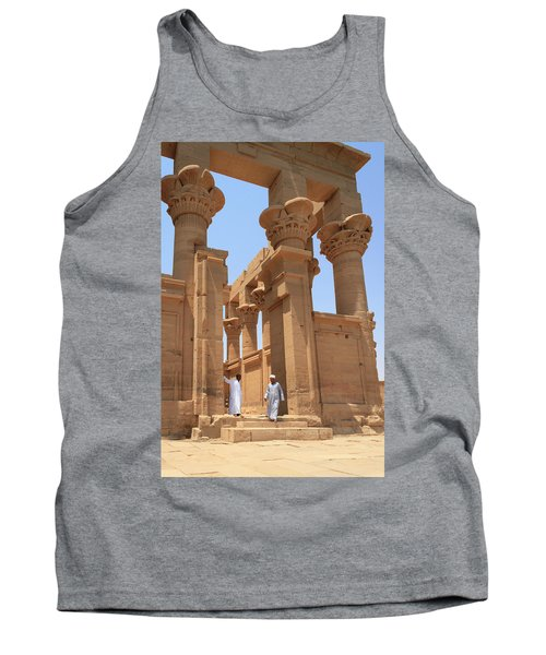 Temple Of Isis Tank Top by Silvia Bruno