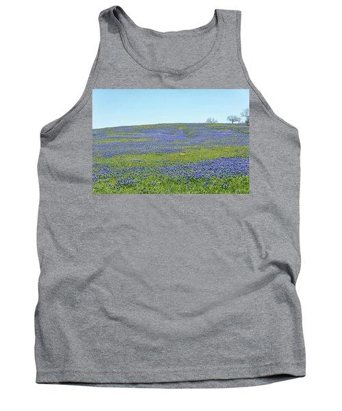 Texas Bluebonnets 12 Tank Top