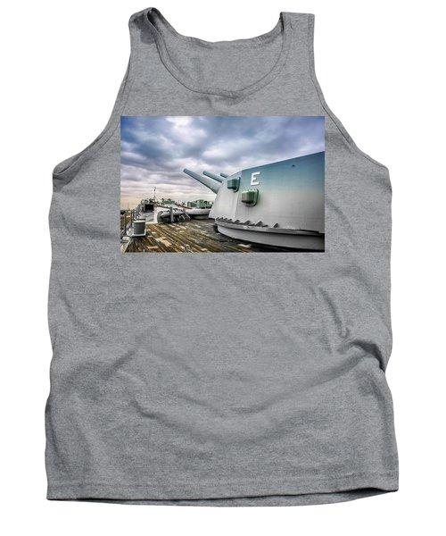 Uss Alabama Tank Top by Chris Smith