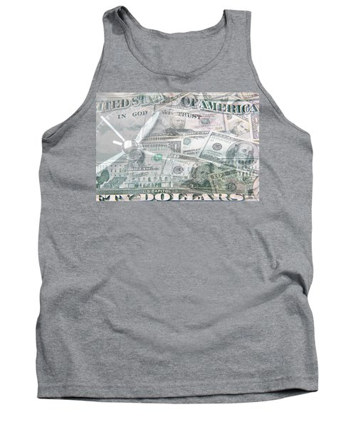 Tank Top featuring the photograph Time Is Money  by Les Cunliffe