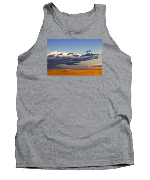 Tank Top featuring the photograph A Barn On The Prairie by Monte Stevens
