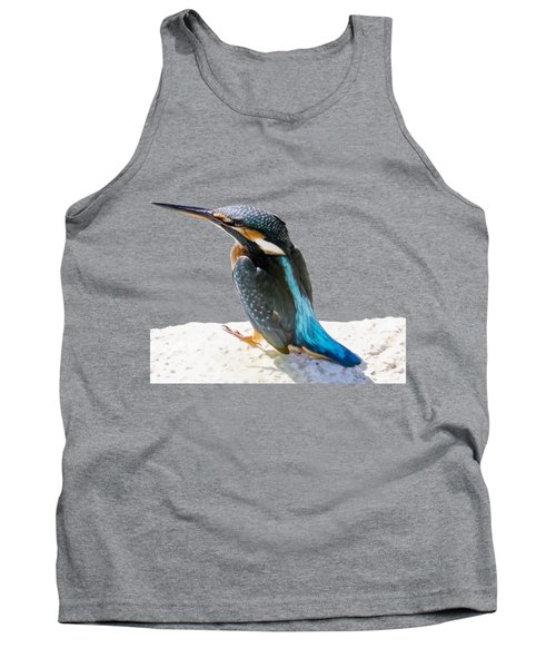 A Beautiful Kingfisher Bird Vector Tank Top by Tracey Harrington-Simpson