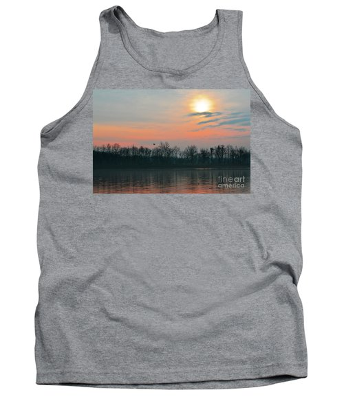 A Beautiful Morning At The Delaware River Tank Top