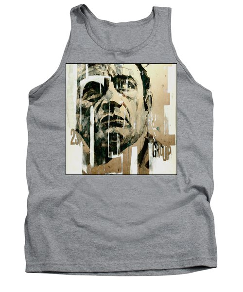 Tank Top featuring the painting A Boy Named Sue by Paul Lovering