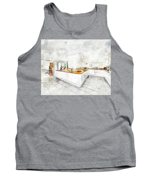 A Bright White Kitchen Tank Top