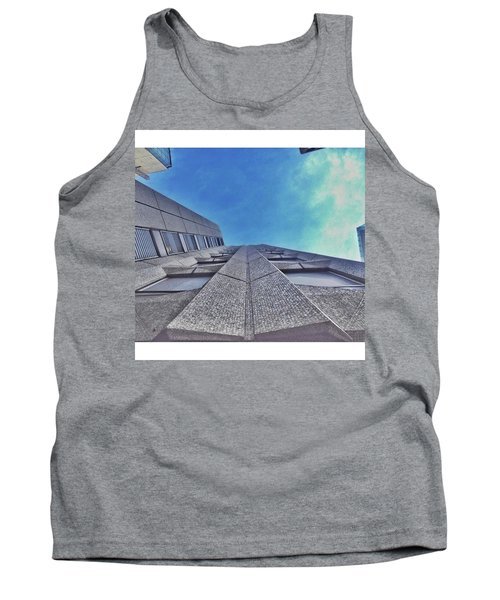A Building At The Start Of Leman Tank Top