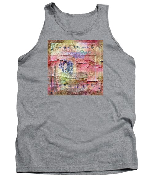 A City Besieged Tank Top by Paula Ayers