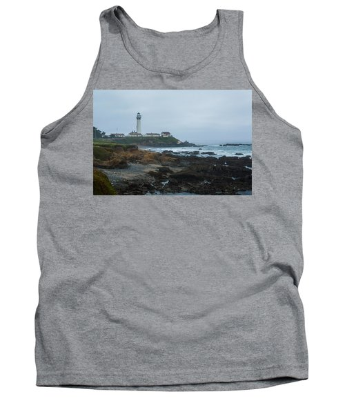 A Cloudy Day At Pigeon Point Tank Top