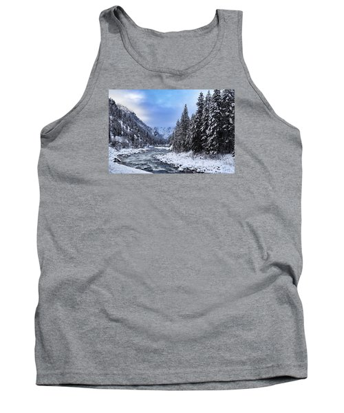 A Cold Winter Day  Tank Top by Lynn Hopwood
