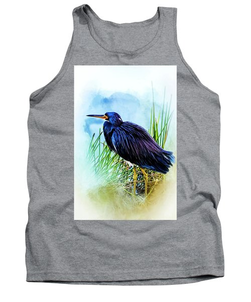 A Day In The Marsh Tank Top