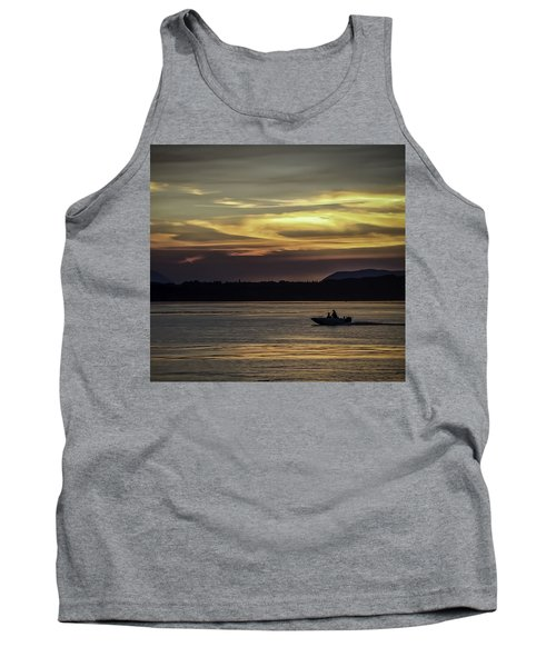 A Day Of Fishing Tank Top