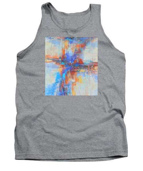 A Deep Breath Tank Top by Becky Chappell