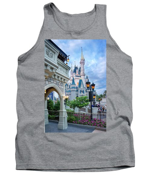 Tank Top featuring the photograph A Different Angle by Greg Fortier