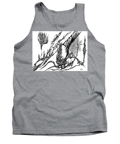 A Different Slant Tank Top by Charles Cater