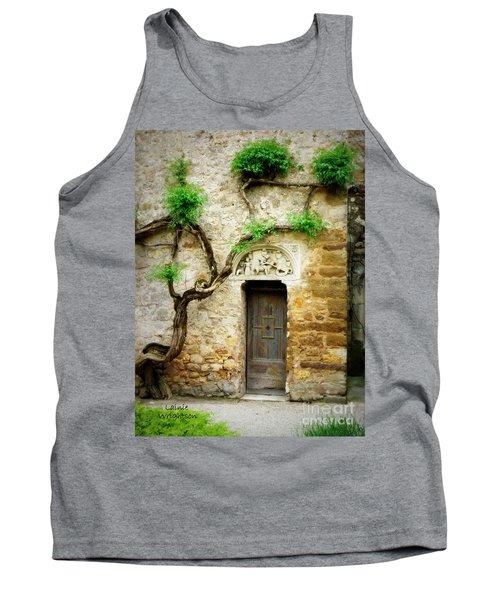 A Door In The Cloister Tank Top by Lainie Wrightson