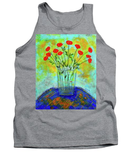 A Dozen Of Red Roses For You Tank Top