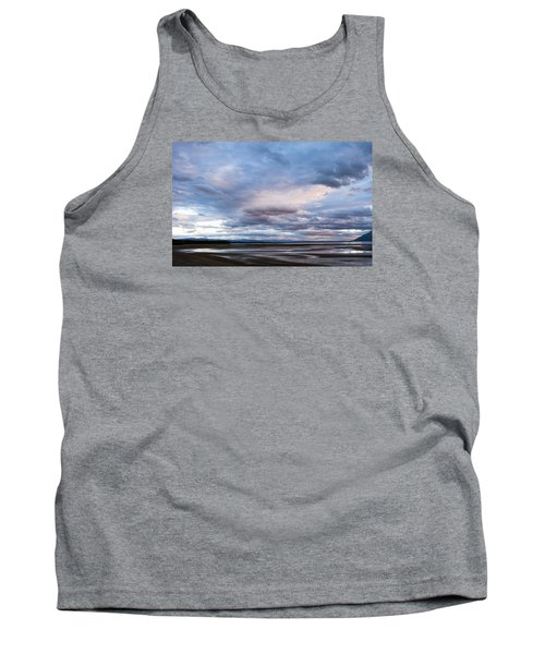Tank Top featuring the photograph A Dry Jackson Lake by Monte Stevens