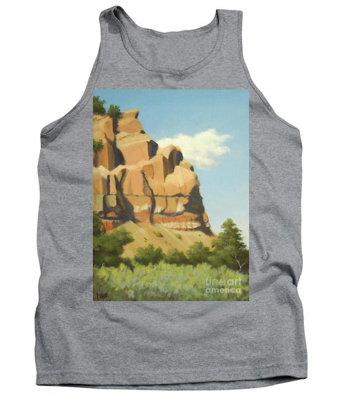 A Face In New Mexico Tank Top