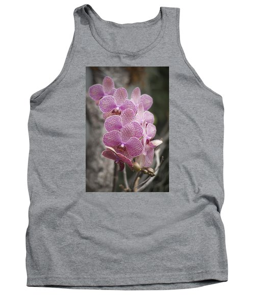 A Flight Of Orchids Tank Top by Morris  McClung