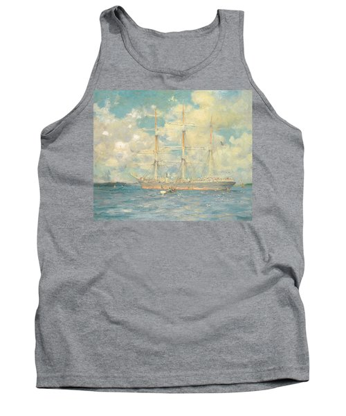 A French Barque In Falmouth Bay Tank Top